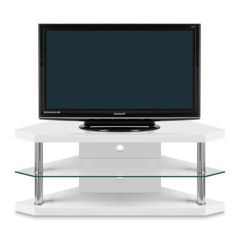 Corner Tv Stands Regarding Most Popular Bravo Corner Tv Stand – Atlantic Shopping (View 4 of 20)