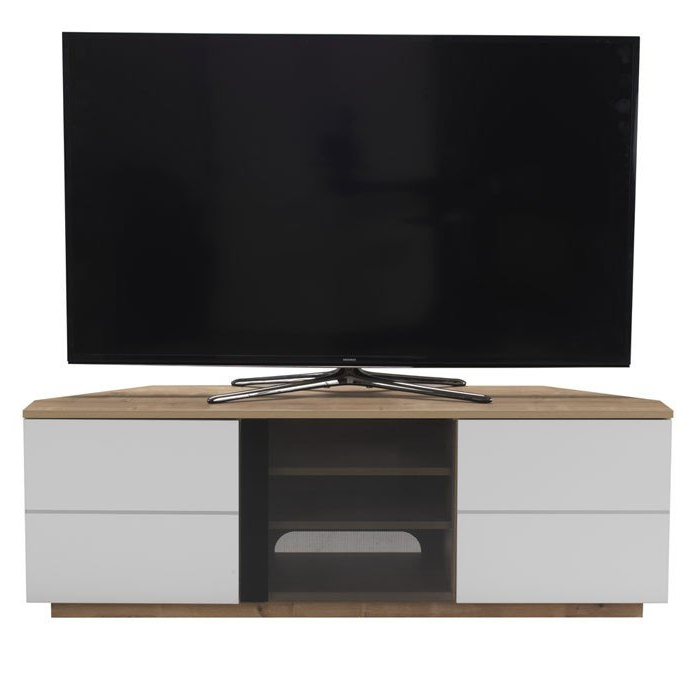Corner Tv Stands Uk – Corner Tv Furniture Intended For Best And Newest Triangular Tv Stands (View 20 of 20)