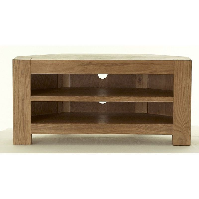 Corner Tv Unit With Regard To Chunky Tv Cabinets (View 4 of 20)