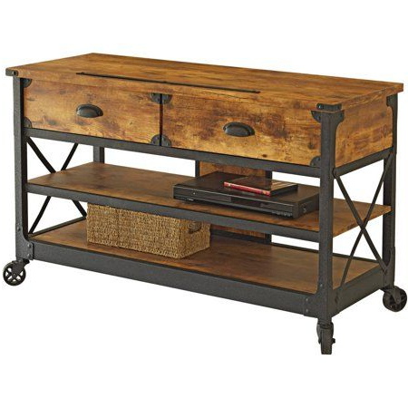 Country Tv Stands Inside Fashionable Better Homes & Gardens Rustic Country Tv Stand For Tvs Up To (View 11 of 20)