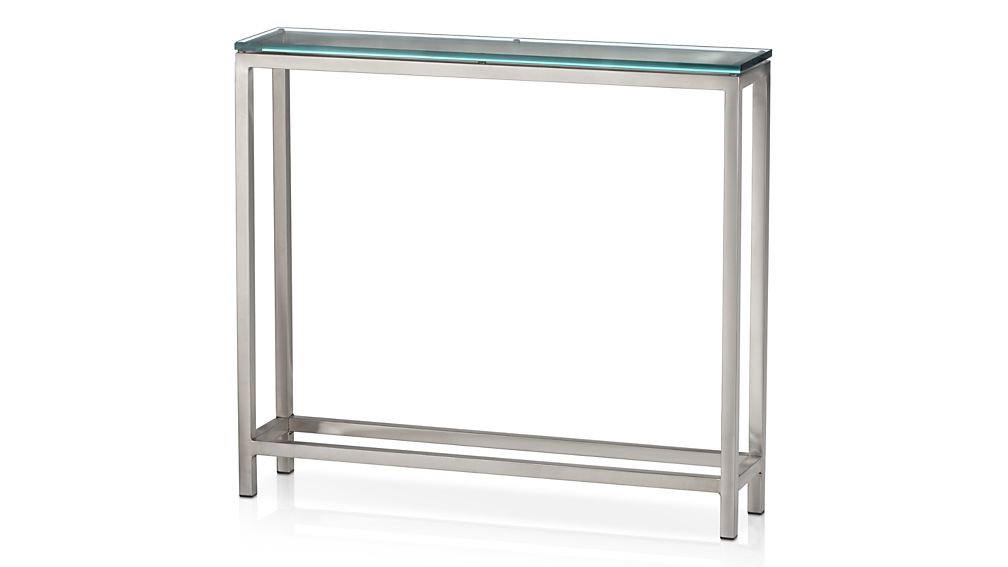 Featured Photo of Era Glass Console Tables