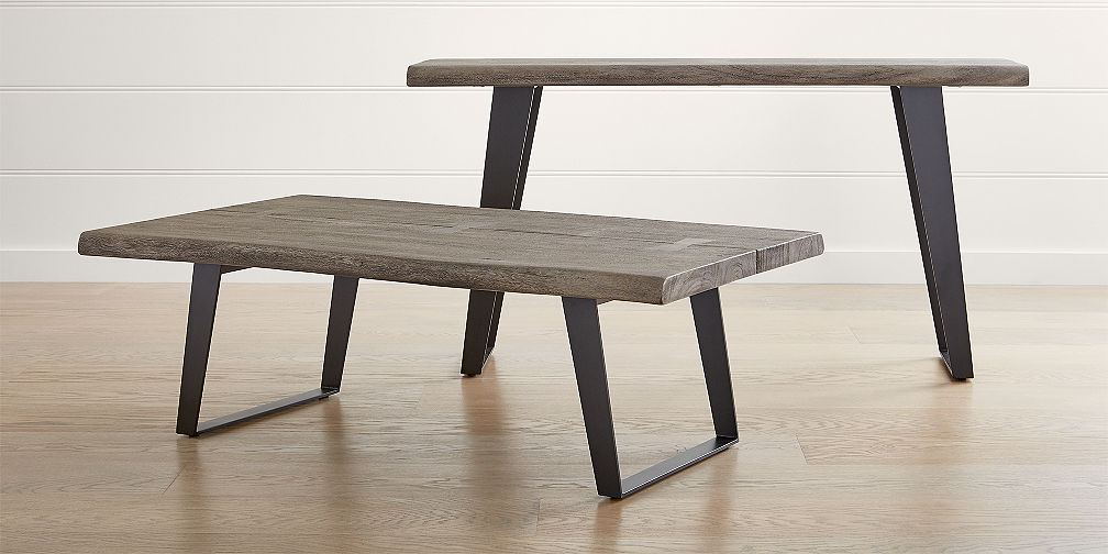 Crate And Barrel Regarding Parsons Walnut Top & Elm Base 48X16 Console Tables (View 2 of 20)