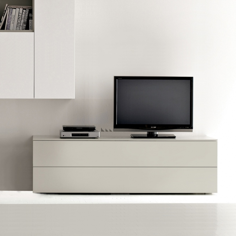 Cream High Gloss Tv Cabinets Within Well Known Modern Tv Units (Gallery 5 of 20)