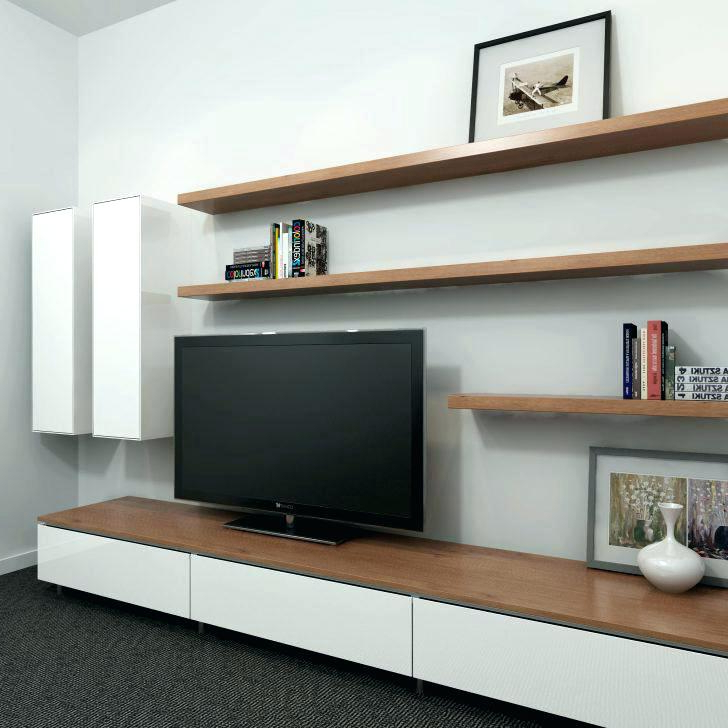 Cube Shelf Tv Stand Floating Wall Shelves Around Shelf Under With Regard To Fashionable Single Shelf Tv Stands (View 4 of 20)