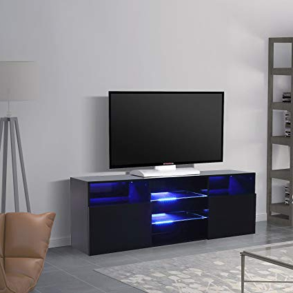 Current Black Gloss Tv Units Intended For Best Direct Deals High Gloss Tv Stand Unit Cabinet Console Furniture (View 18 of 20)