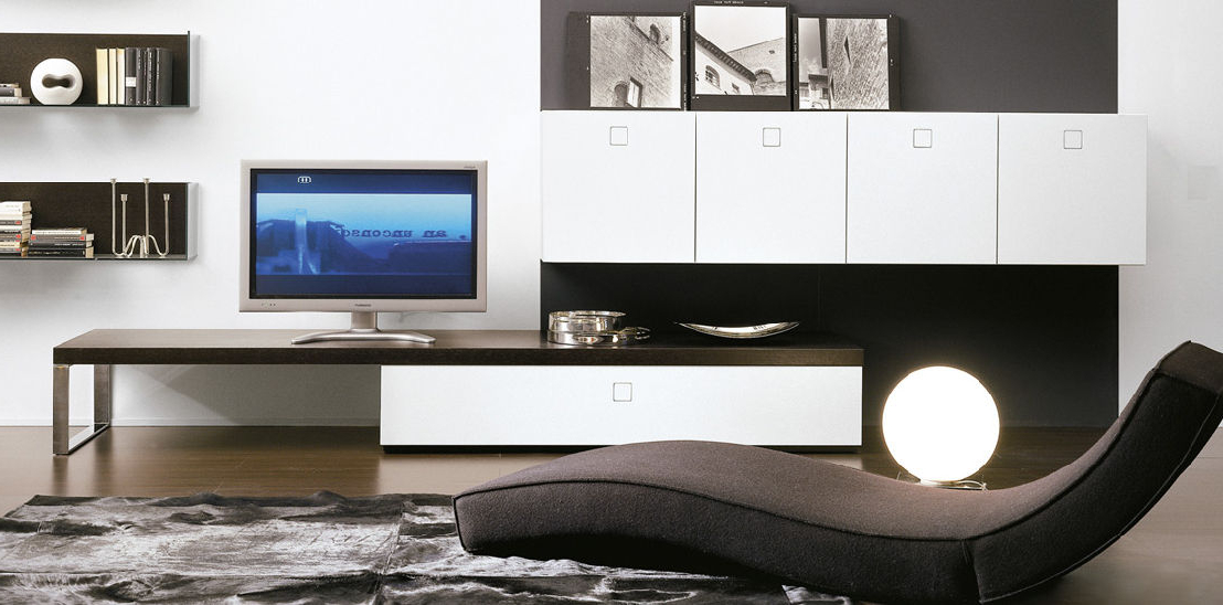 Current Contemporary Tv Cabinets Regarding Contemporary Tv Cabinet / Glass – Seventy Daypietro Arosio (View 3 of 20)