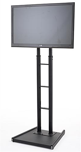 "Current Extra Long Tv Stands Regarding Large Tv Stand For 32"" To 65"" Screens W/ Tall Adjustable Design (Gallery 14 of 20)"