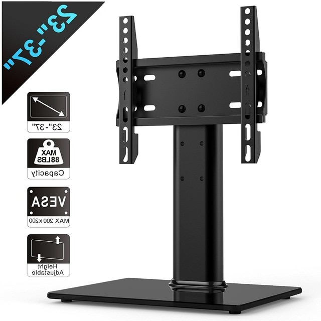 Current Fitueyes Universal Tv Stand /base Tabletop Tv Stand With Mount For For Tabletop Tv Stands (View 4 of 20)