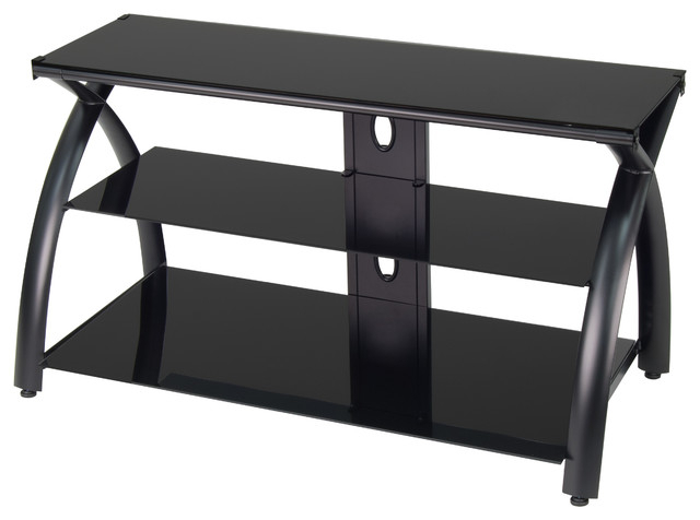 Current Futura Tv Stand – Modern – Entertainment Centers And Tv Stands – With Black Glass Tv Stands (View 5 of 20)