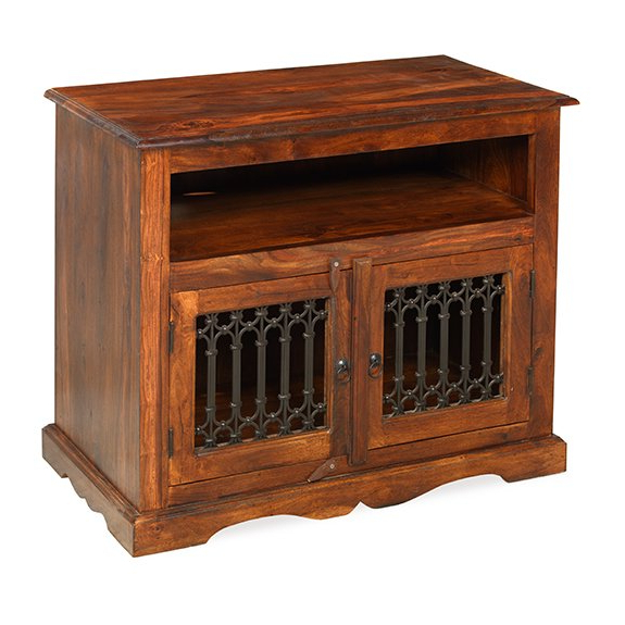 """Current Jali Tv Cabinets Throughout Prestington Jali Indian Tv Stand For Tvs Up To 32"""" & Reviews (Gallery 1 of 20)"""