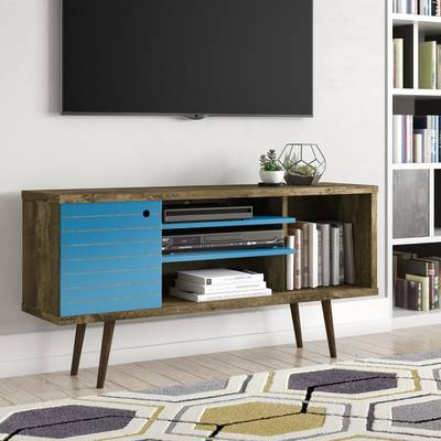 "Current Maddy 50 Inch Tv Stands Pertaining To Three Posts Orviston Corner Tv Stand For Tvs Up To 60"" & Reviews (View 13 of 20)"