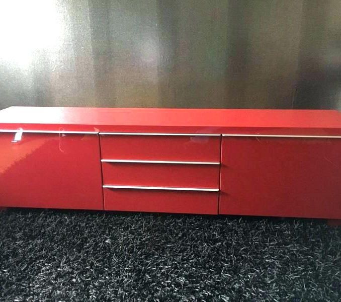 Featured Photo of Red Gloss Tv Stands