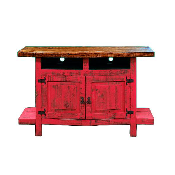 Current Rustic Red Tv Stands Throughout Red Rustic Tv Stand (View 5 of 20)