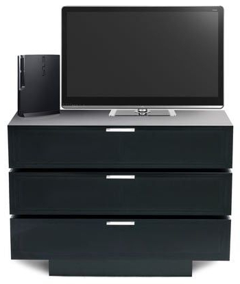 Current Stil Stand Black Gloss Tv Cabinet – Stuk4001  (View 3 of 20)