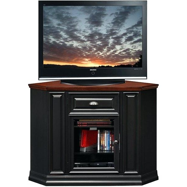 Current Techlink Bench Piano Black Corner Tv Stand With Glass Doors Pertaining To Techlink Bench Corner Tv Stands (View 4 of 20)