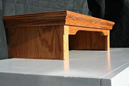 Current Tv Riser Stand Throughout Amazon: Tv Riser Stand Traditional Oak (Country Medium (View 4 of 20)