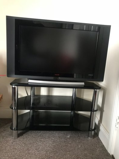Current Tv Stands For 43 Inch Tv Pertaining To Tv 43 Inch And Tv Stand For Sale In Bettystown, Meath From Kesa (View 7 of 20)