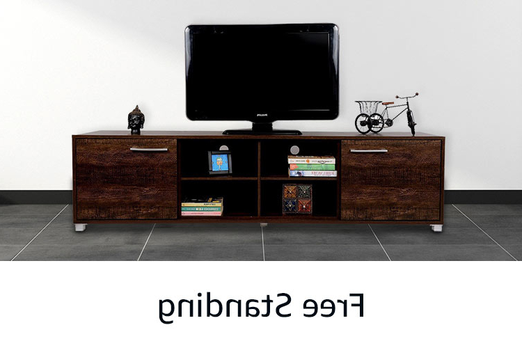 Current Tv Stands With Back Panel Inside Tv Unit: Buy Tv Unit Online At Best Prices In India – Amazon (View 18 of 20)