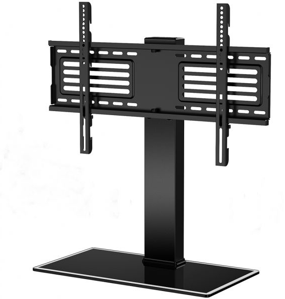 Current Universal 24 Inch Tv Stands Pertaining To Fitueyes Universal Tv Stand Swivel And Height Adjustable Tv Mount (Gallery 19 of 20)