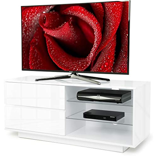 Current White Gloss Corner Tv Units: Amazon.co (View 10 of 20)