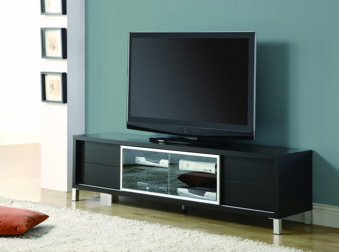 Current Wide Screen Tv Stands Throughout Living Room: Marvellous Dark Oak Tv Stands For Flat Screen Your (Gallery 10 of 20)