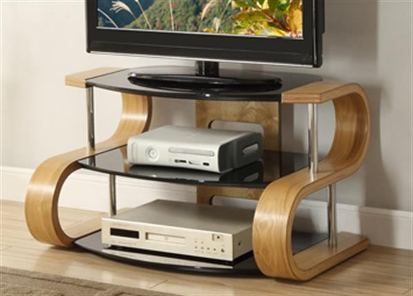 Curve Tv Stands With Newest Jf203 Curved Wood Tv Stand – Cooks (View 6 of 20)
