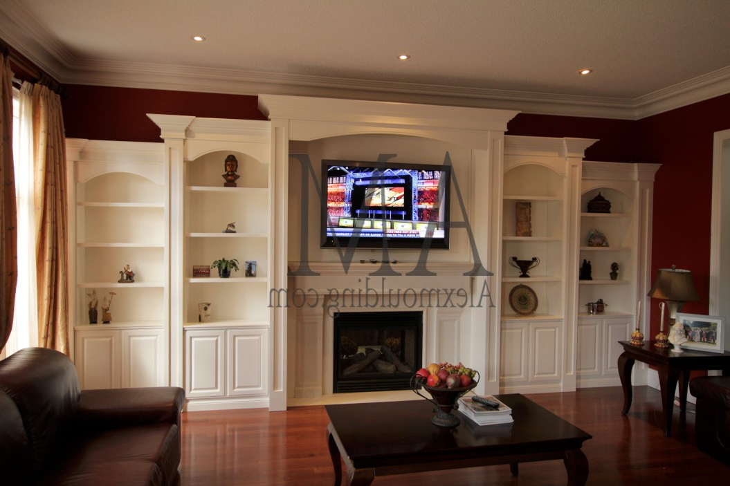 Custom Bookcases (View 3 of 20)