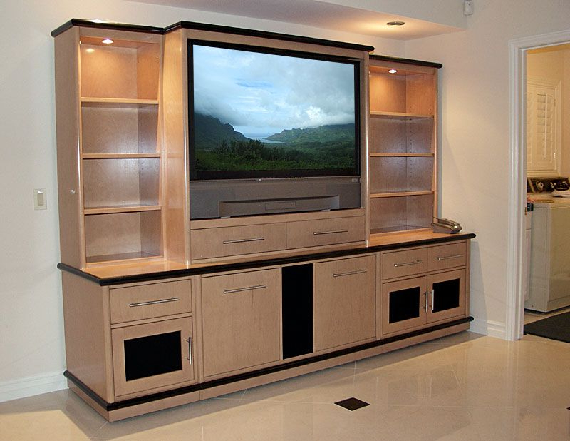 Custom Wall Unit With Display Cases Like The Concept Not So Much The Throughout Widely Used Modern Lcd Tv Cases (View 3 of 20)