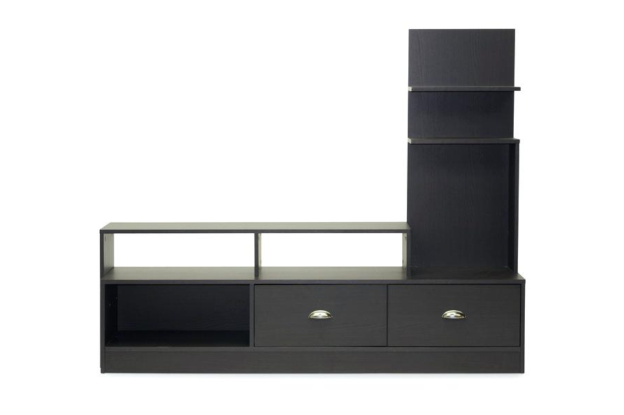 Dark Brown Corner Tv Stands Intended For Newest Tv Stands Dark Brown Studio Dark Brown Modern Stand Corner Tv Stand (View 6 of 20)