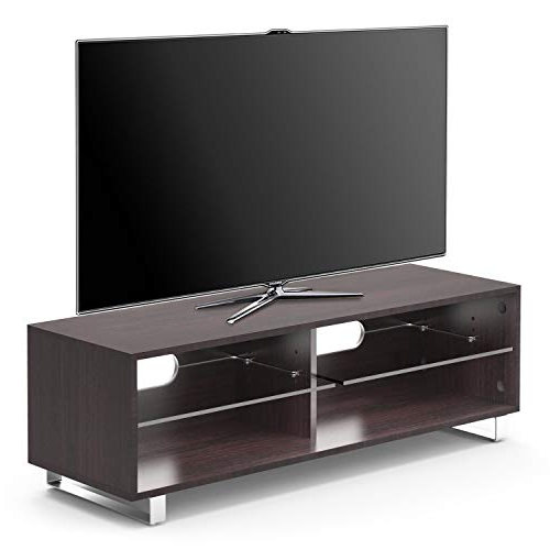 Dark Wood Tv Stands Throughout Popular Dark Wood Tv Stand: Amazon.co (View 7 of 20)