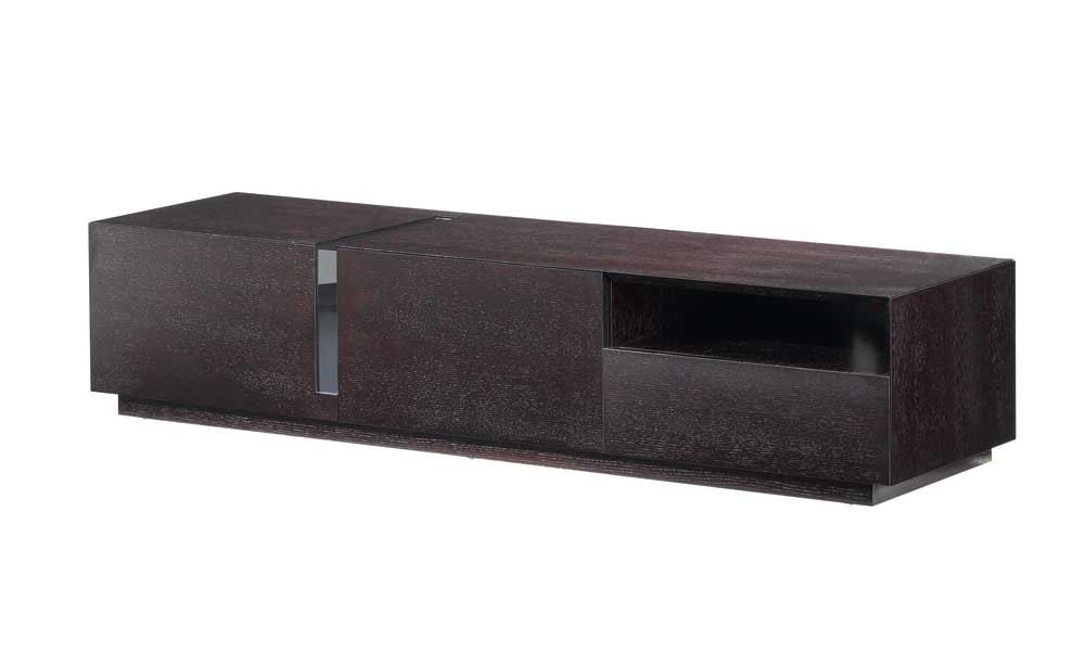 Dark Wood Tv Stands Within Famous Buy Tv027 Dark Oak Tv Standj And M From Www.mmfurniture. Sku (Gallery 9 of 20)
