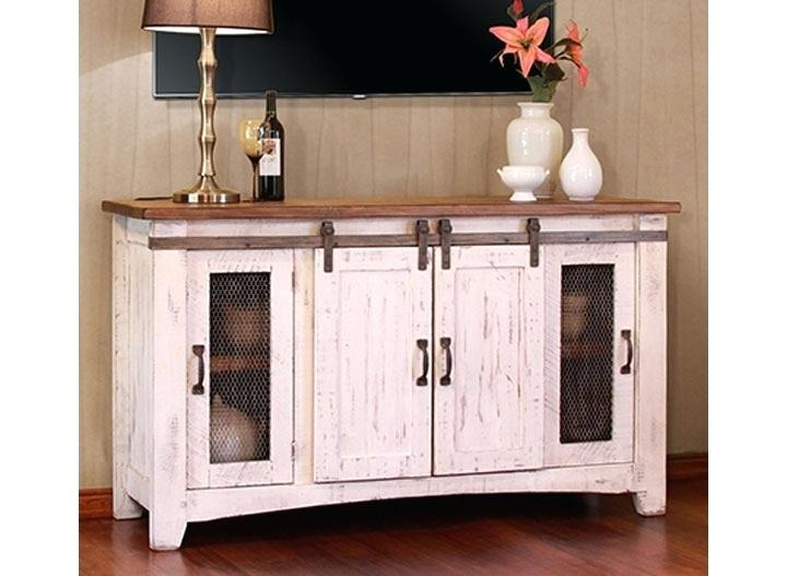 Decoration: Amazing Popular Rustic White Stands With Regard To With 2018 Rustic White Tv Stands (View 18 of 20)