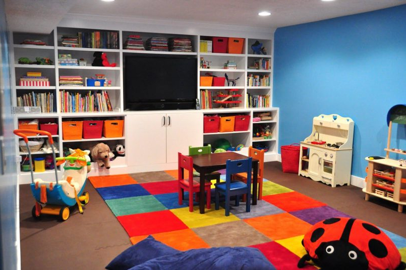 Decoration Kids Storage Seat Toddler Living Room Furniture Playroom With Regard To Recent Playroom Tv Stands (Gallery 20 of 20)