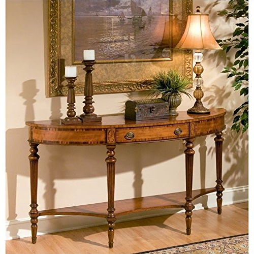 Demilune Console Table Within Clairemont Reviews Crate And Barrel With Most Recent Clairemont Demilune Console Tables (Gallery 12 of 20)