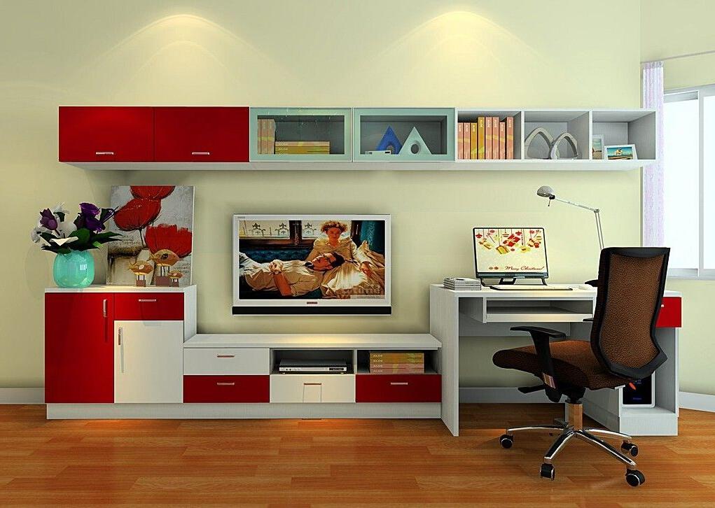 Desk, Desk Tv Stand, Room (Gallery 2 of 20)