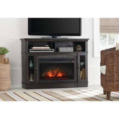 Dixon Black 65 Inch Highboy Tv Stands Throughout Well Liked Electric Fireplaces – Fireplaces – The Home Depot (Gallery 11 of 20)