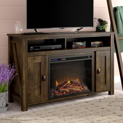 "Dixon White 58 Inch Tv Stands Within Most Up To Date Mistana Whittier Tv Stand For Tvs Up To 60"" With Fireplace & Reviews (View 8 of 20)"
