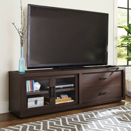 Dixon White 65 Inch Tv Stands Regarding Trendy Free Shipping. Buy Better Homes And Gardens Steele Tv Stand For Tv's (Gallery 7 of 20)