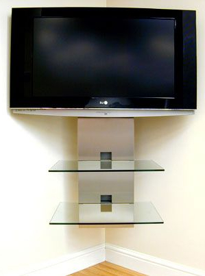 Diy Ideas Throughout Favorite Wall Mounted Tv Stands With Shelves (View 1 of 20)