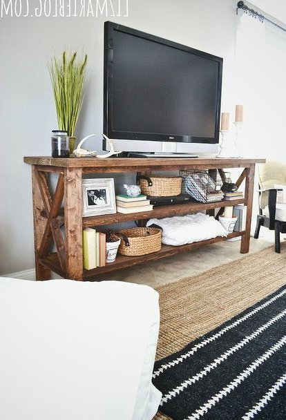 Diy Tv, Diy Tv For Most Recent Rustic Furniture Tv Stands (Gallery 20 of 20)