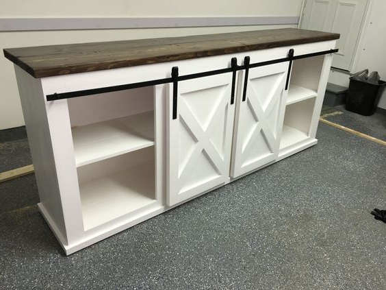 Do It Yourself Home Projects From Ana Within Latest White Rustic Tv Stands (View 7 of 20)