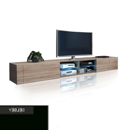 Double Tv Stands For Trendy Elegant Ii Double Tv Stand (View 11 of 20)