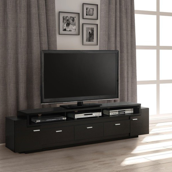 Ducar 84 Inch Tv Stands With Most Current Shop Porch & Den Hubbard 84 Inch Tiered Tv Stand – On Sale – Free (Gallery 5 of 20)
