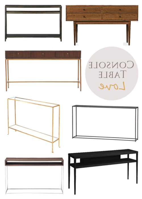 Echelon Console Tables Regarding Fashionable Guest Post: Console Tablessweetsuite10 • Brittany Stager (View 6 of 20)