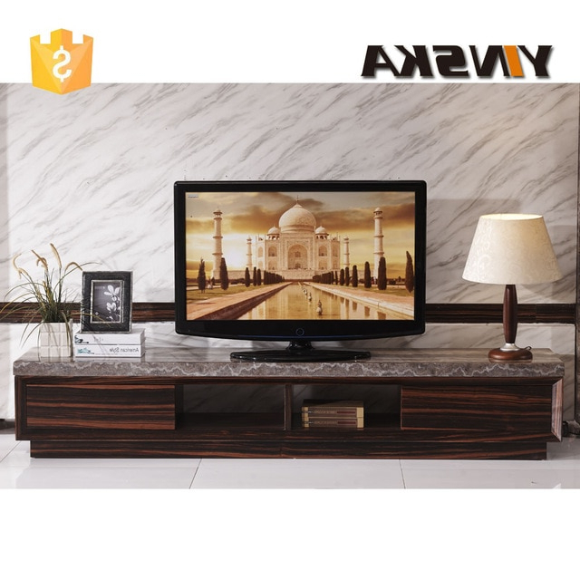 Economical Italian Design Lcd Plasma Marble Top Tv Stand, Modern With Regard To Fashionable Modern Wooden Tv Stands (View 5 of 20)