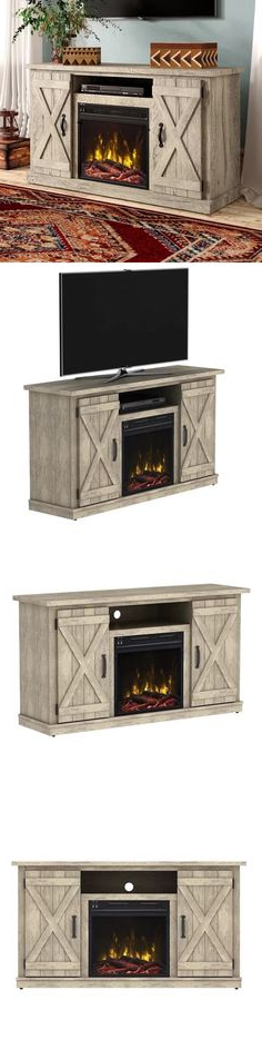Electric Fireplaces In Kilian Grey 74 Inch Tv Stands (View 12 of 20)