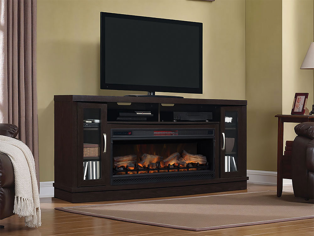 Electricfireplacesdirect In Most Recent Sinclair White 68 Inch Tv Stands (Gallery 17 of 20)