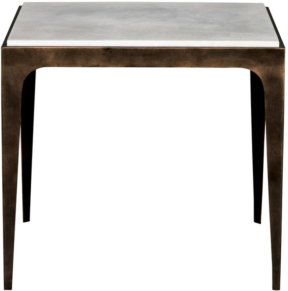 Elke Marble Console Tables With Brass Base For Most Recent Hancock Side Table P282E – Our Products – Vanguard Furniture (Gallery 7 of 20)