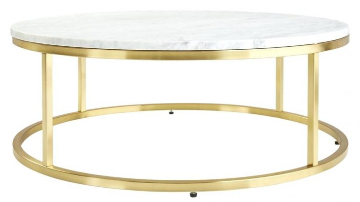 Elke Round Marble Side Table Coffee Dinning Room Remarkable 2 Regarding Most Recently Released Elke Marble Console Tables With Brass Base (View 11 of 20)