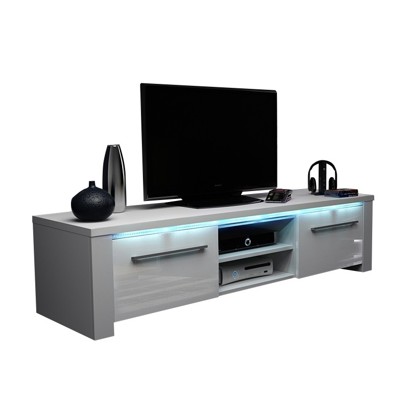 Emerson Tv Stands Regarding Recent Emerson White High Tv Stand 140Cm (Gallery 7 of 20)